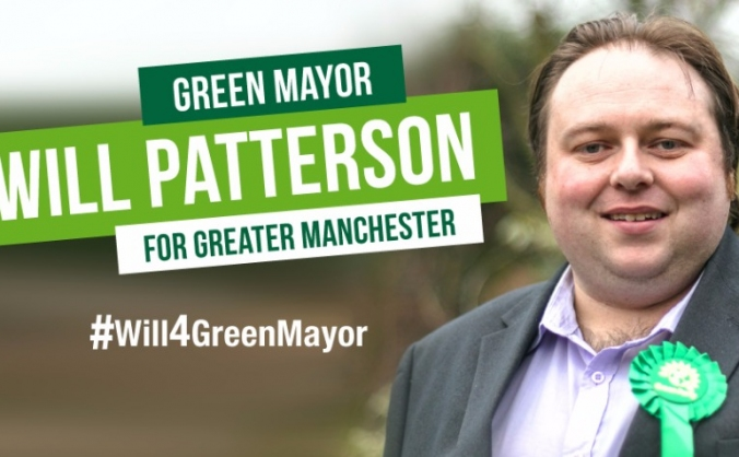 Will Patterson 4 Green Mayor of Greater Manchester