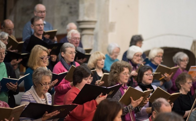 Fordingbridge Choral Society 40th anniversary.
