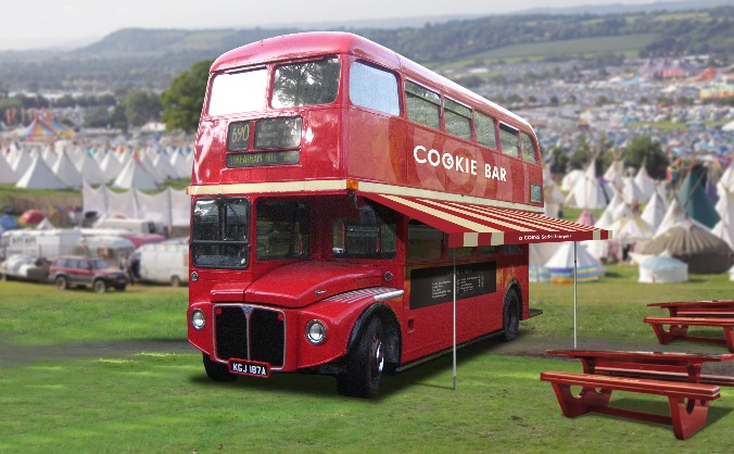 The Cookie Bar Bus