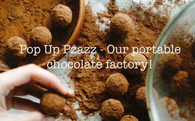 Coco Pzazz - Pop up chocolate factory