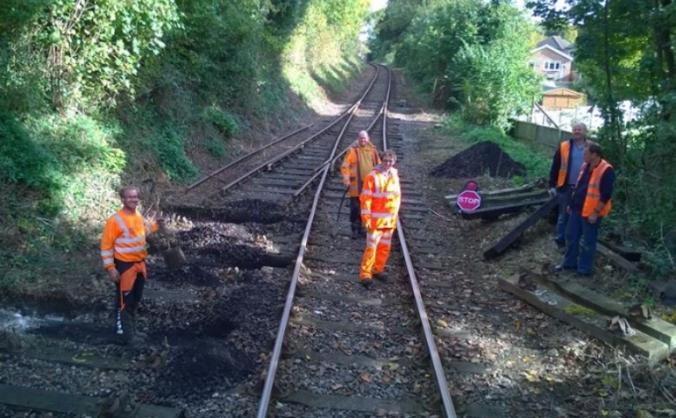 East Kent Railway Trust - Track Fund!