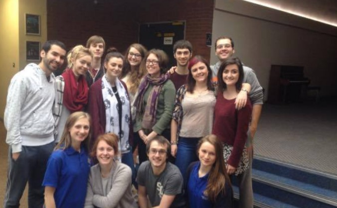 USSU Theatre Society: Noises Off 2015