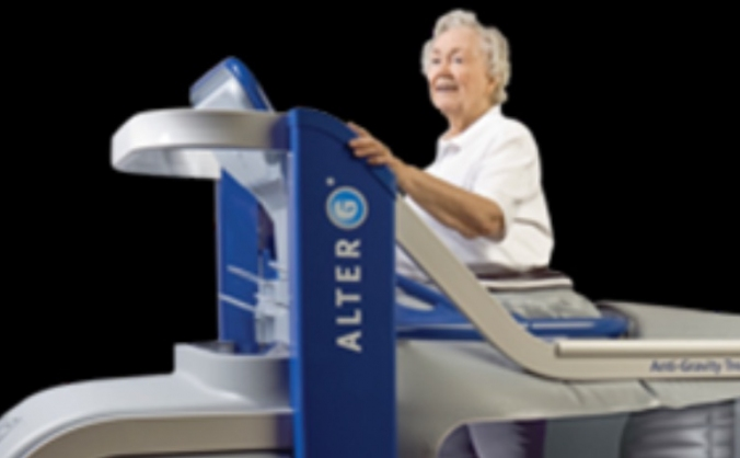 Anti-gravity treadmill for Neurological patients