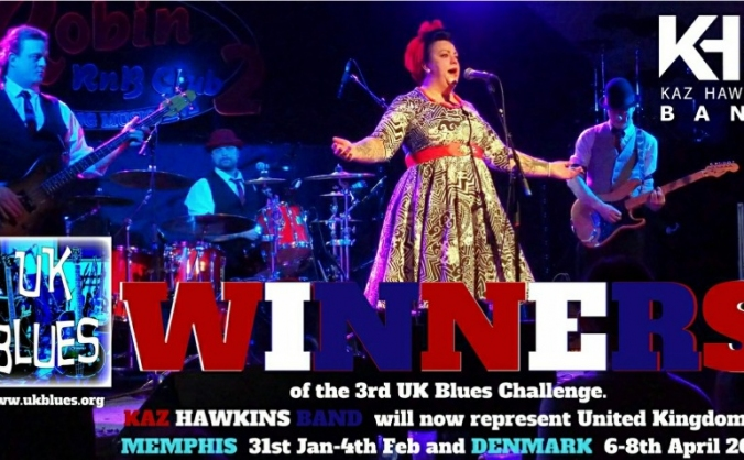 Kaz Hawkins Band Challenge Funding