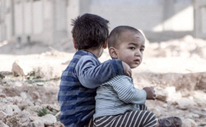 Help the forgotten children of war torn syria