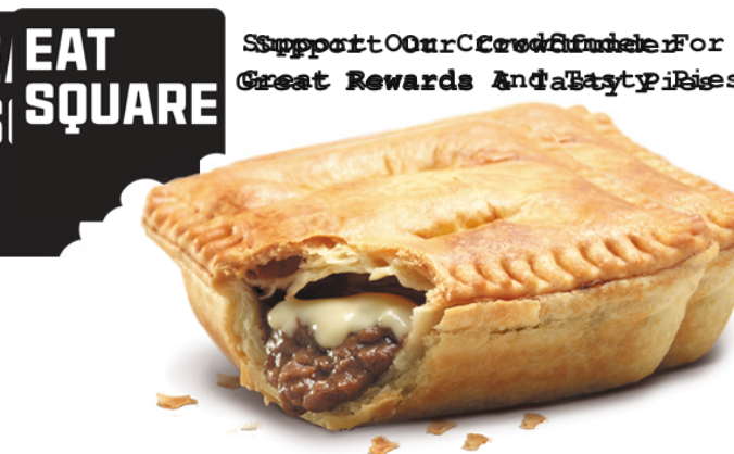 Back Eat Square Pies & Receive Great Rewards!