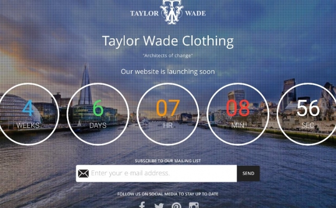 Taylor Wade..The next big name on the high street