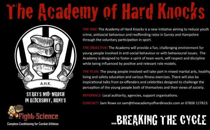 the academy of hard knocks