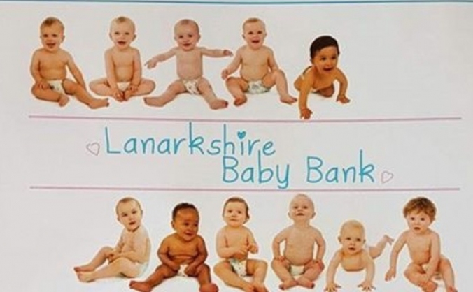 Lanarkshire baby bank 1st Birthday campaign