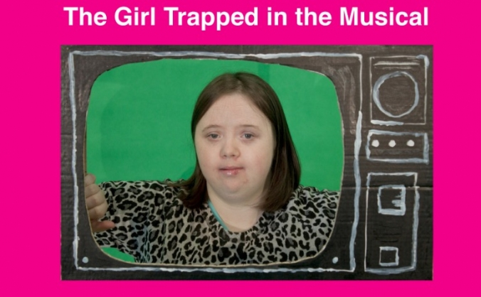 The Girl Trapped in the Musical - story book