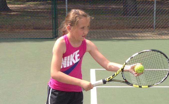 Freya Barry National Deaf Tennis Squad