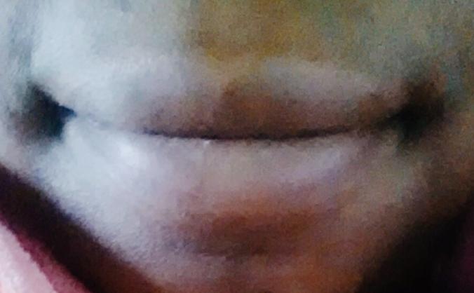 A person's smile