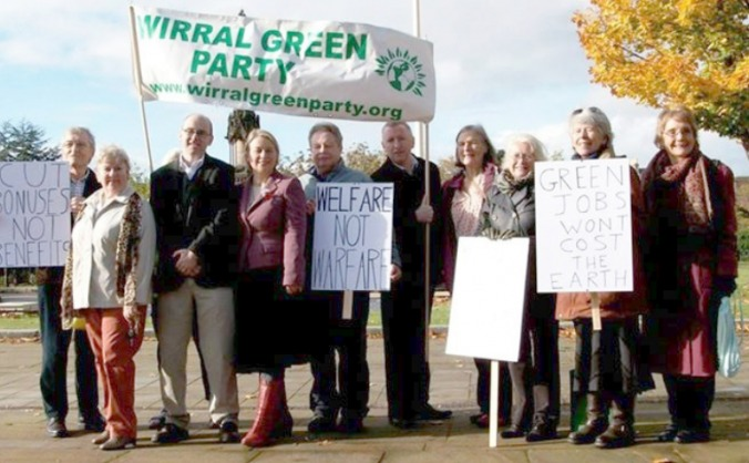 Wirral Green Party General Election Candidates