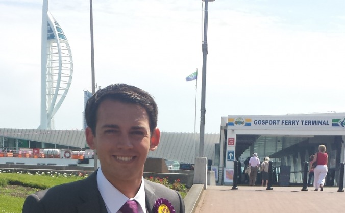 Elect Chris Wood in Gosport