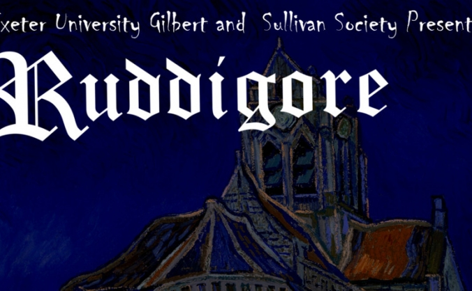'Ruddigore' Exeter University Gilbert and Sullivan