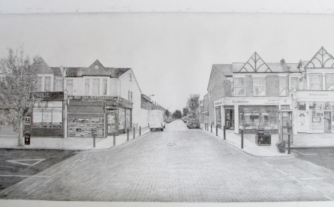 A Walk in Myddleton Road- Exhibition