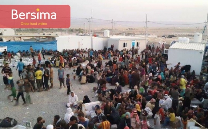 Christmas Dinner for 6,000 ISIS Refugees