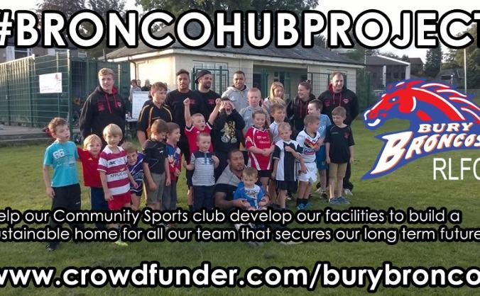 Bury Broncos 'Community Sport Hub'