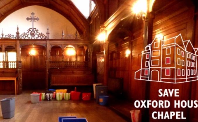 Save Oxford House's secret chapel