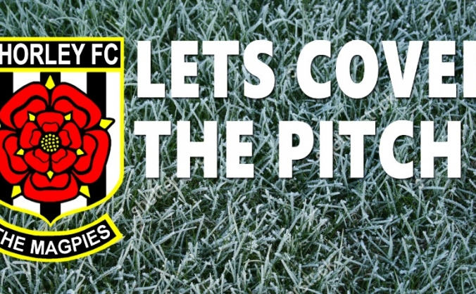 Chorley FC: Let's Cover The Pitch