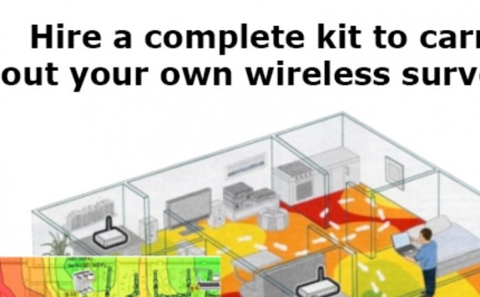 Hire a Complete Wireless Site Survey Kit