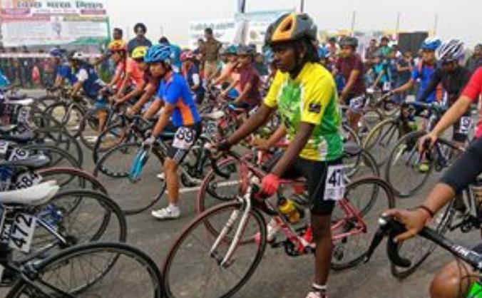 Gunamani - Cyclist champion from Indian Village