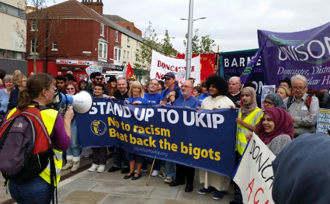 Sheffield Stand up to UKIP