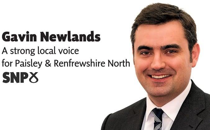 Gavin Newlands For Paisley & Renfrewshire North