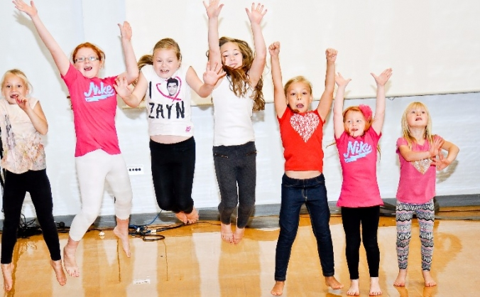SmartyPilates helps kids in need