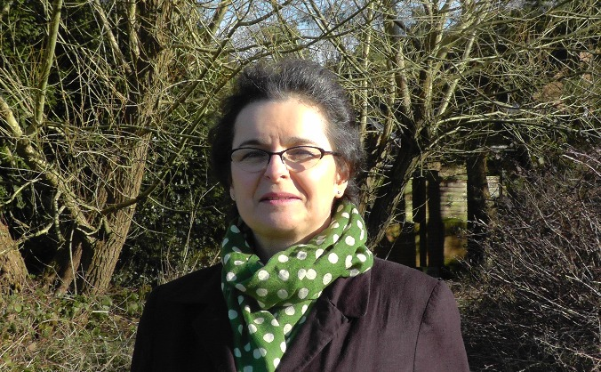 Susan Ryland -  Green candidate for SW Surrey