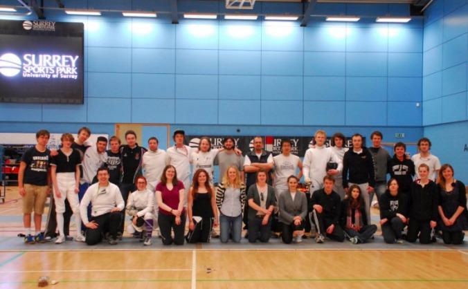 Team Surrey Fencing Marathon