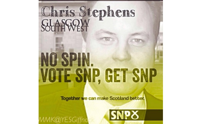 Help the SNP win Glasgow South West, Stage 3