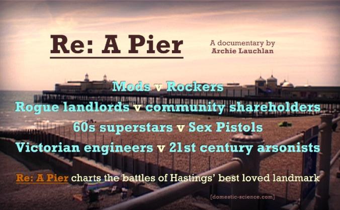 Re: A Pier (post-production)