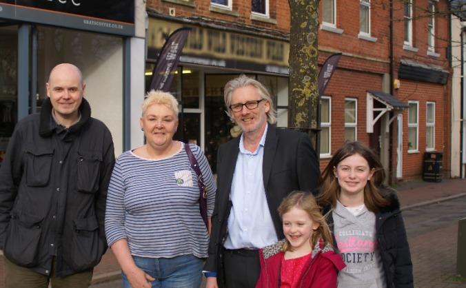 Carl Hewitt - Green candidate - ALDERSHOT