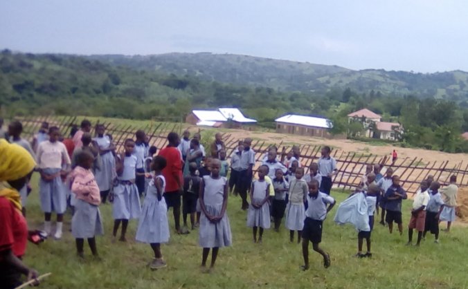 clean water for kids in Kazo