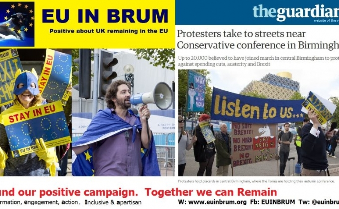 Campaigning to Remain in the EU