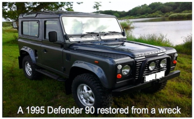 Creating bespoke Land Rover Defenders.
