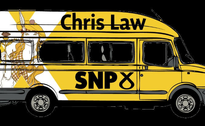 Dundee West SNP Minibus Crowdfunder
