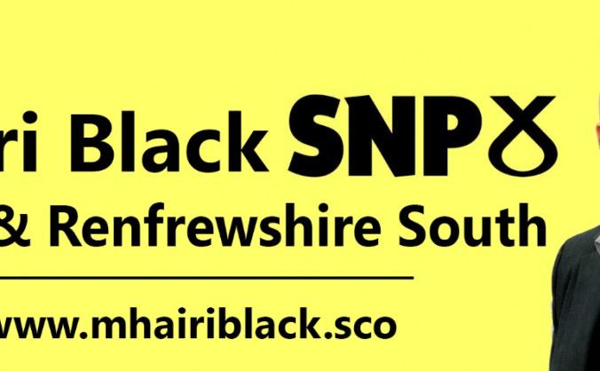Mhairi Black for Paisley & Renfrewshire South