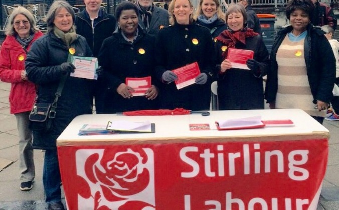 Make Johanna Boyd Labour's next MP for Stirling