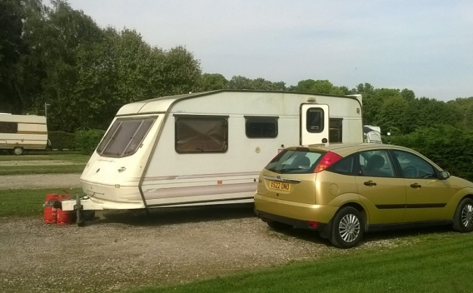 Hayley's caravan theft