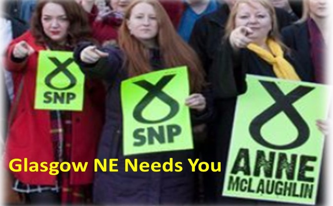 Help SNP's Anne McLaughlin take Labour stronghold!