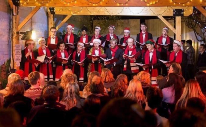 2017 Christmas CD recording