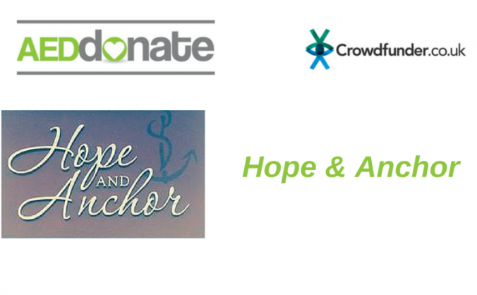 AED for The Hope & Anchor