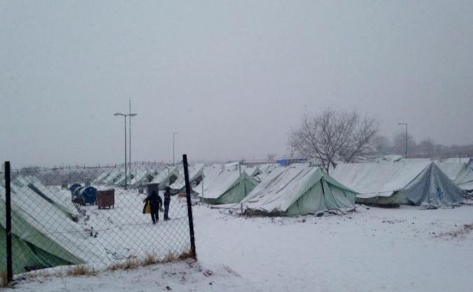 Help Sam Volunteer! Refugee crisis Northern greece