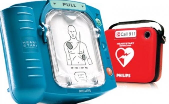 Sauncey Wood School Auto External Defibrillator