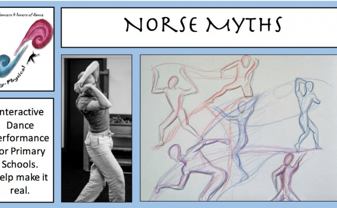 Norse Myths interactive performance for schools
