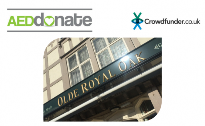 AED for Olde Royal Oak