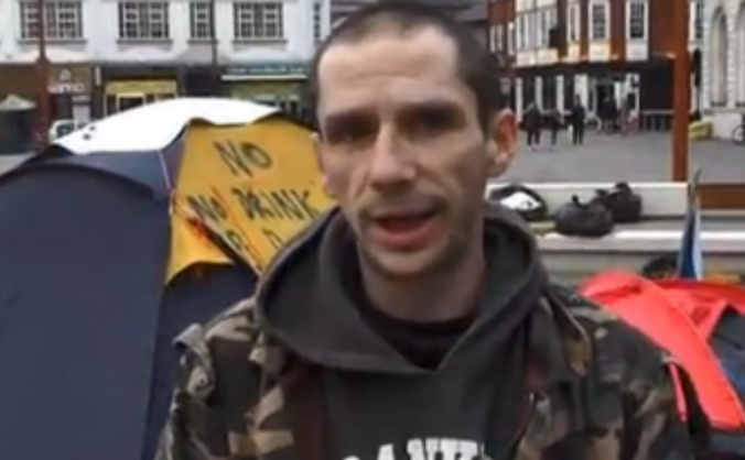 Fined for homeless protest
