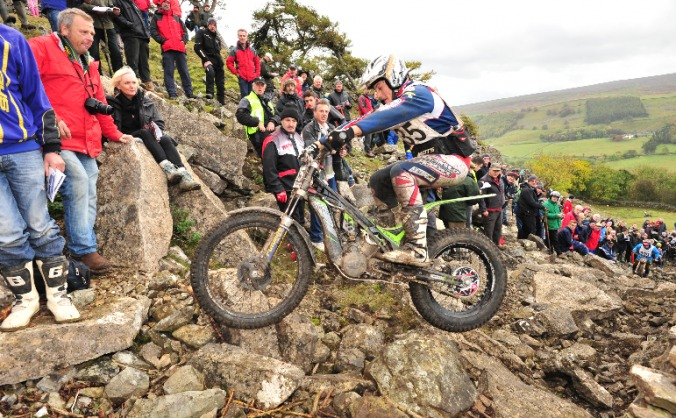 Billy Bolt Motorcycle Trials Season 2015